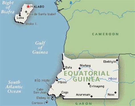 guinea ecuatorial map 10 interesting equatorial guinea facts my interesting facts