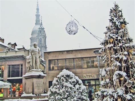 il meteo cameri reportage fotografico la neve di oggi a novara galliate