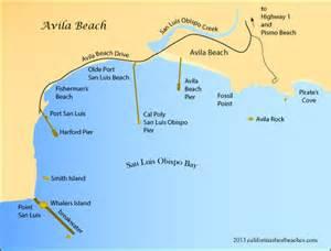 avila california map avila california s best beaches