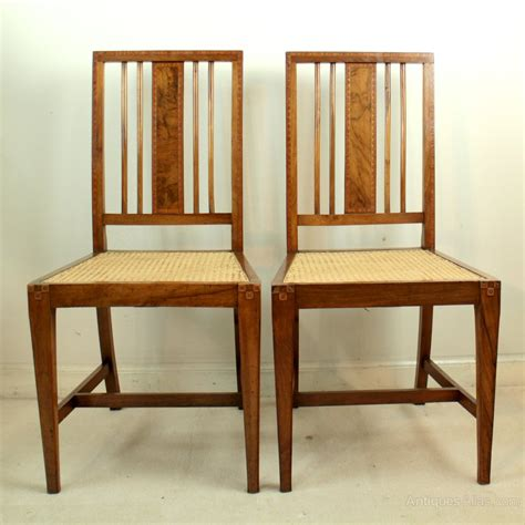 antique bedroom chairs art deco walnut marquetry pair of bedroom chairs