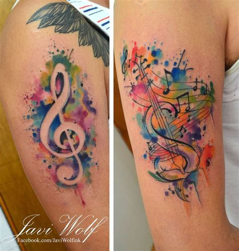 music city tattoo watercolor tattoos expert i wolf the artist from