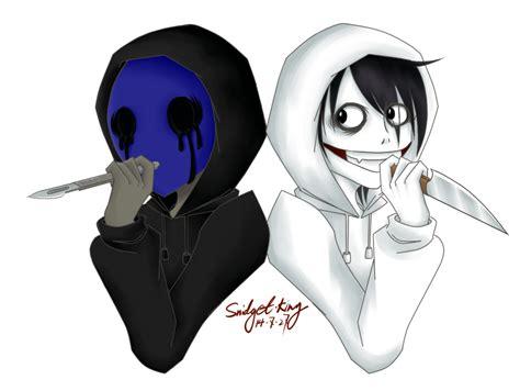 imagenes de jack y jeff the killer eyeless jack and jeff the killer by snidget king on deviantart