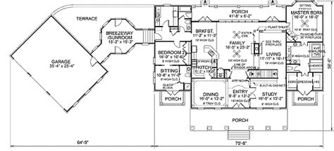 georgian floor plans stately georgian colonial 20026ga architectural