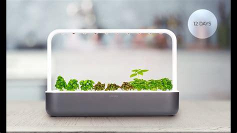 the smart garden back the click grow smart garden 9 on kickstarter youtube