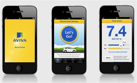 drive app aviva offers safer drivers up to 20 discount off car