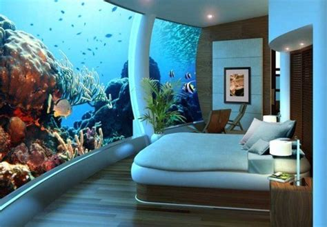 fish tank bedroom giant tank wall