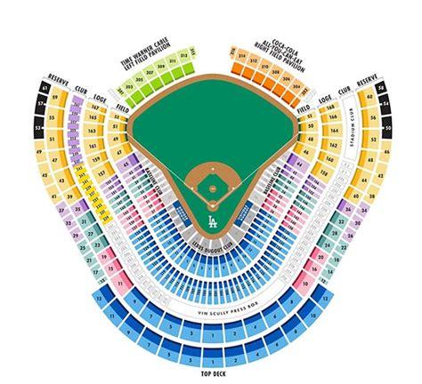 dodger stadium parking map dodgers seat map kelloggrealtyinc