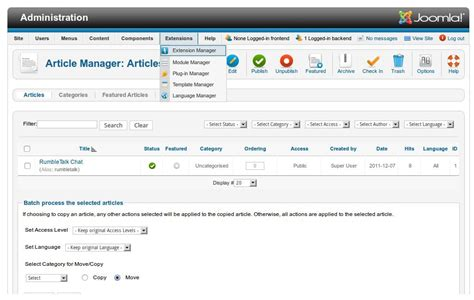 avatar chat rooms joomla extensions directory