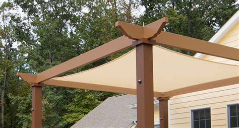 pergola with shade tensioned shade sail pergola canopy structureworks