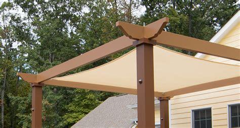 Tensioned Shade Sail Pergola Canopy Structureworks Pergola Shade Sails