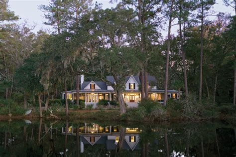 Historical Concepts Floor Plans by Carpenter Gothic Cottage Spring Island South Carolina