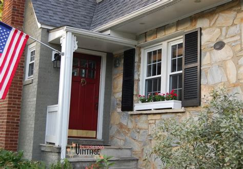 Painting Shutters And Front Door Painting Front Door And Shutters Chalk Paint 174 Shutters Front Door Painting Your Shutters