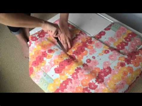 How To Decoupage With Wrapping Paper - how to decoupage dresser tutorial