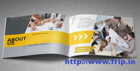 page layout a5 booklet best 40 portfolio brochure design print templates frip in