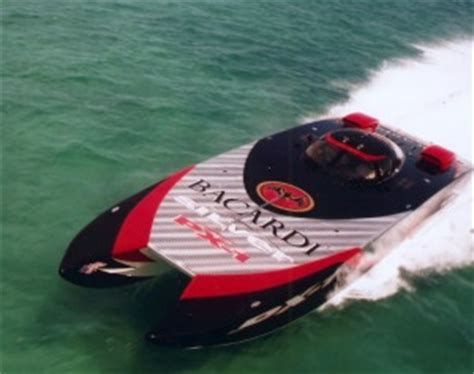 how we started sterling performance engines - Bacardi Silver Boat