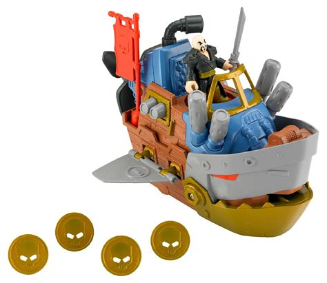 imaginext boat imaginext pirate shark boat by fisher price 174