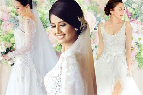 wedding 2014 pinoy actress photo celebrity dress philippines 2016 2017 fashion fancy