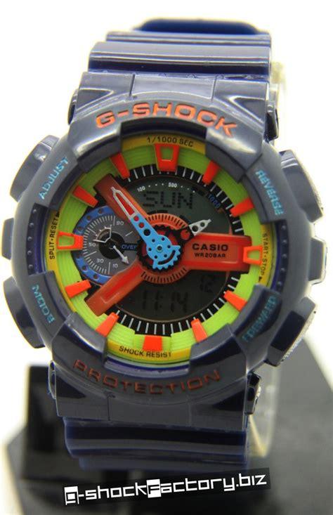 G Shock Ga 110 Black Yellow g shock ga 110 hyper colors blue by www g