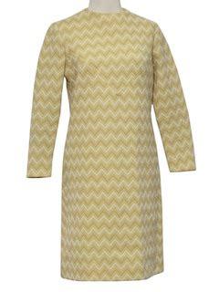 Lower V Shape Knit Dress vintage 1970 s knit dresses at rustyzipper vintage