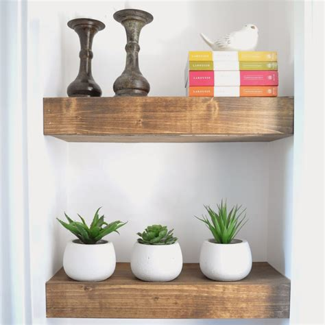 wooden shelves 60 ways to make diy shelves a part of your home s d 233 cor