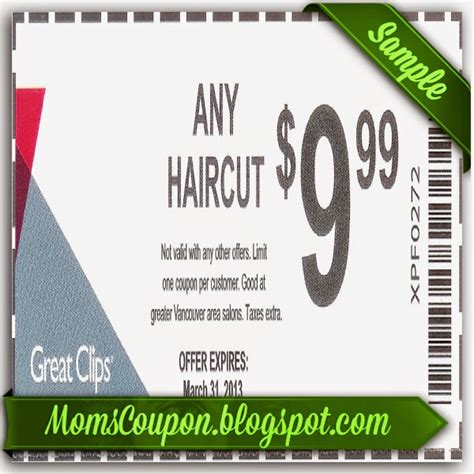 use free printable great clips coupons for big discounts
