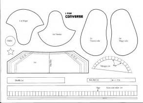 converse shoe template s pysselsida chaussures converse products i