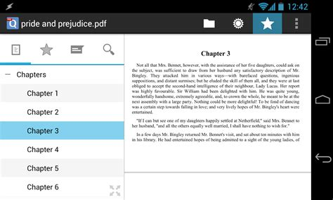 pdf viewer for android qpdf viewer android pdf reader with text reflow