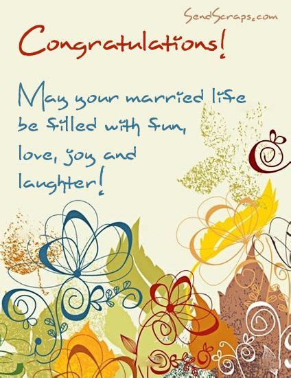 Happy Wedding Wishes Messages   Congratulations! May your