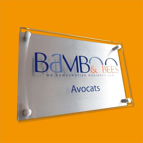 creativ sign office signs plaques acrilic glas