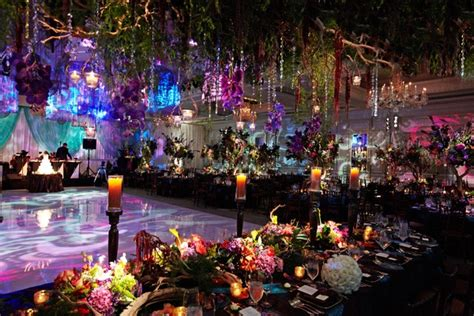 Forest Wedding Concept by Colorful Ballroom Wedding In Chicago With Quot Enchanted