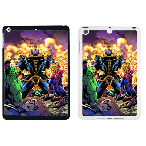 Marvel Superheroes Sticker Bomb Dc Comics A0116 Iphone 5 5s Se Casi marvel comic cover for apple mini air 44 ebay