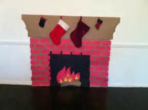 How To Make A Paper Fireplace - a fireplace out of construction paper craft ideas