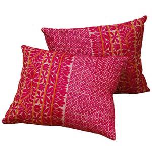 vintage embroidered indian pillows at 1stdibs