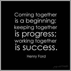 Henry Ford Quote Coming Together Together Henry Ford Quote Fb