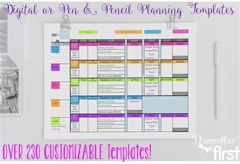 planner the ultimate weekly and yearly digital