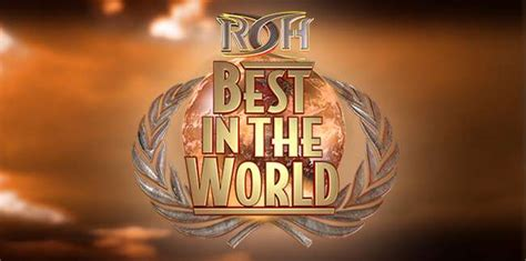 best in roh best in the world 2017 6 23 2017 show