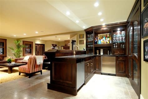 Basement Bar Designs Themed Basement Bar Designs