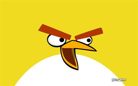 Angry Bird Yellow Iphone 6 7 5 Xiaomi Redmi Note F1s Oppo S6 Vivo yellow bird in angry birds wallpapers hd wallpapers id