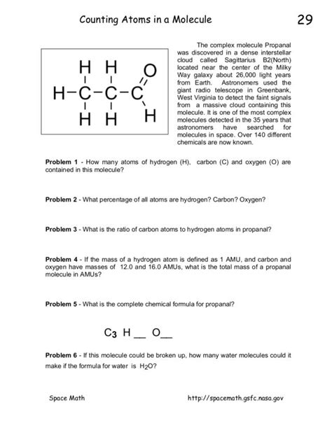 Chemistry Counting Atoms In Compounds Worksheet Answers by 8th Grade Science Atoms Molecules Mqdefault 1000 Images