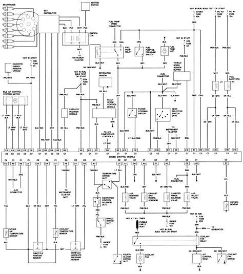 91 tpi camaro distributor wiring diagram 91 get free