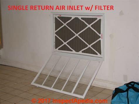 air conditioner furnace filter air conditioners how to locate or find the air filters on