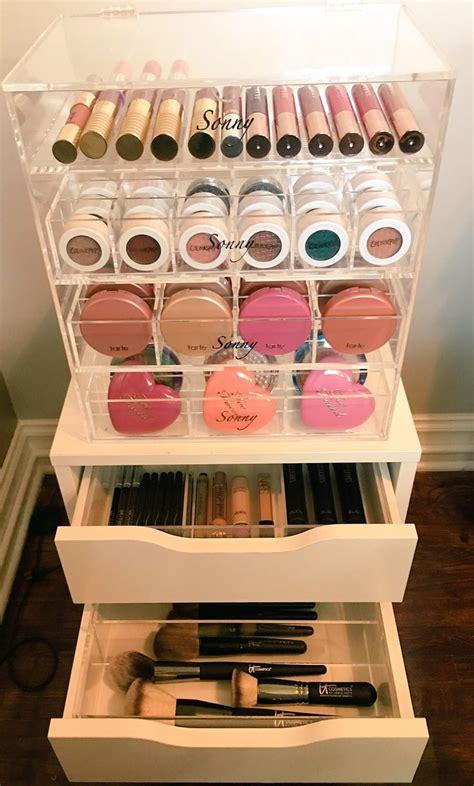 bedroom interesting ikea makeup organizer