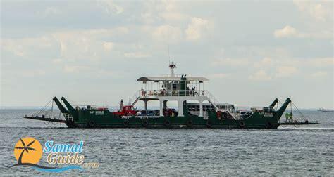 ferry boat to samal island samal island ferry boat rates samal guide