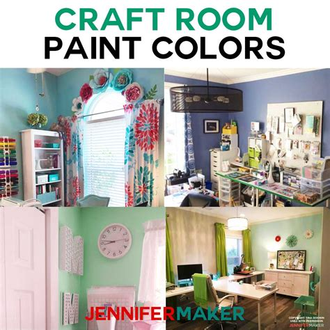 paint colors for rooms craft room paint colors ideas maker