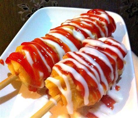 resep   membuat hotang sederhana dokkebi hot dog