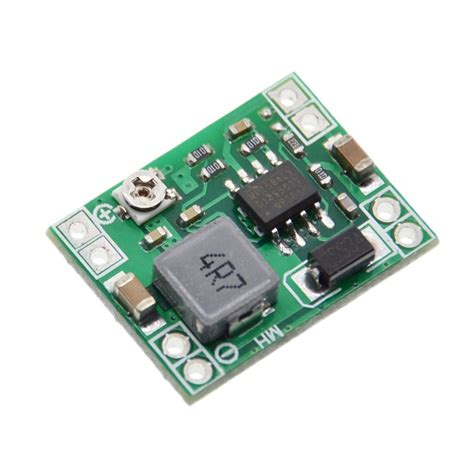 Module Dc Dc Step Buck Converter 2a Lm2596 Dengan Led Display 5pcs ultra small size dc dc step power supply module 3a adjustable buck converter for