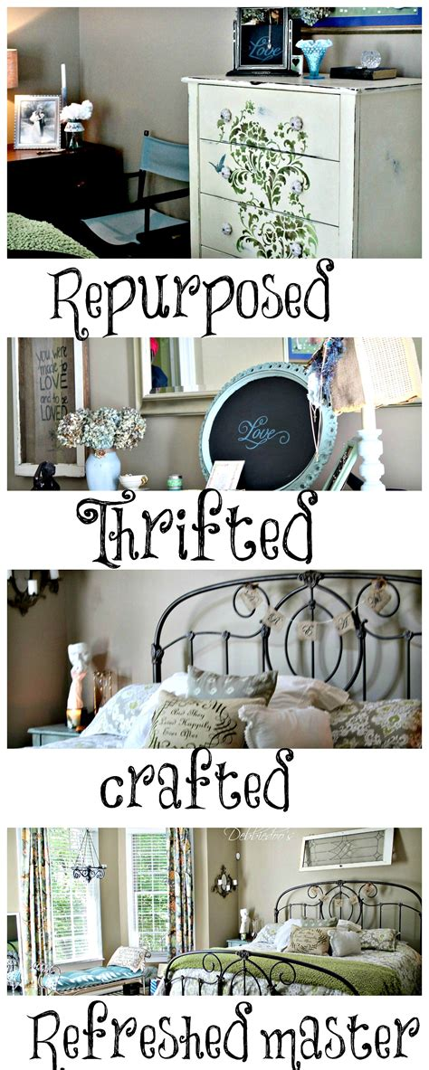 diy projects for your bedroom master bedroom refreshed debbiedoos