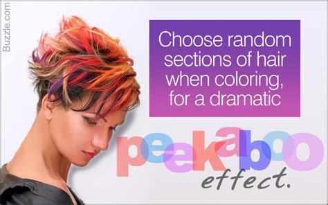 learn how to do peekaboo highlights yourself for a rock