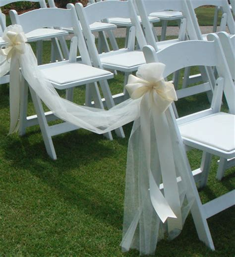 Wedding Ceremony Chair Decorations by 20 Inspring And Affordable Wedding Chair Decorations