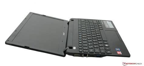 Bekas Laptop Acer Aspire One 725 acer aspire one 725 c7skk notebookcheck net external reviews